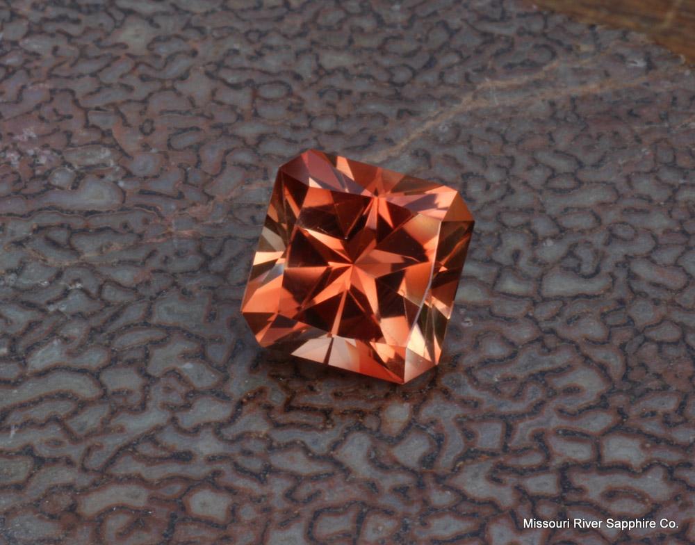 Oregon Sunstone Red Orange Spectrum Small Miner Conflict Free Custom Cut Gemstone MadeInUSA