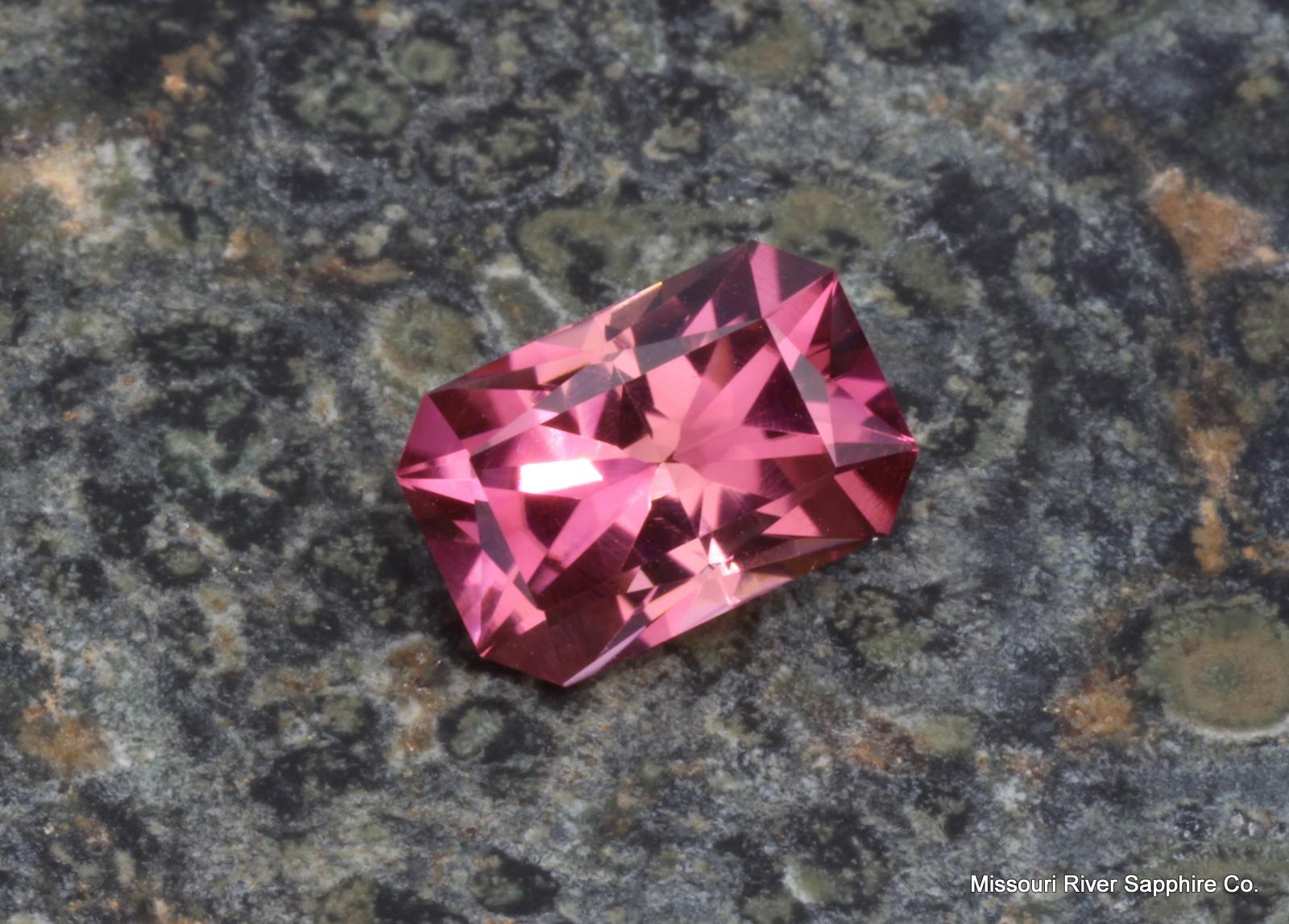 Tourmaline Himalaya Pink emerald Precision Cut Hot Pink