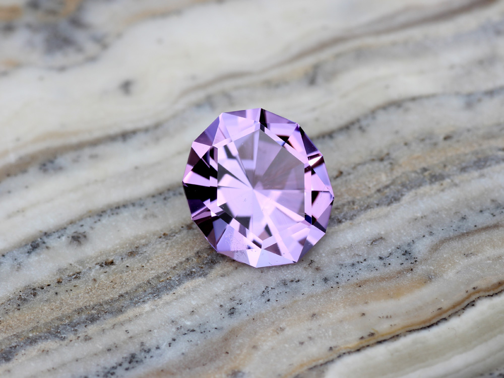 Four Peaks Amethyst Purple Arizona Sustainably Mined Conflict Free Precision Cut