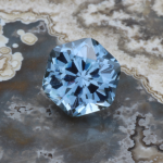 2.06ct Montana Sapphire, Unheated