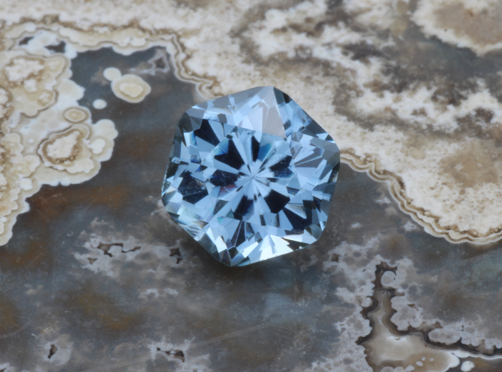 Blue Montana Sapphire Unheated Precision Cut Round