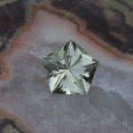 2.7ct Light Yellowish-Green Connecticut Beryl