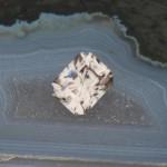 2.02ct Warm White Zircon, Tanzania, Heated
