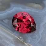 2.17ct Kenya Rhodolite Garnet, Custom Cut in USA