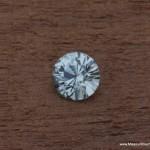 .62ct White Montana Sapphire, Unheated