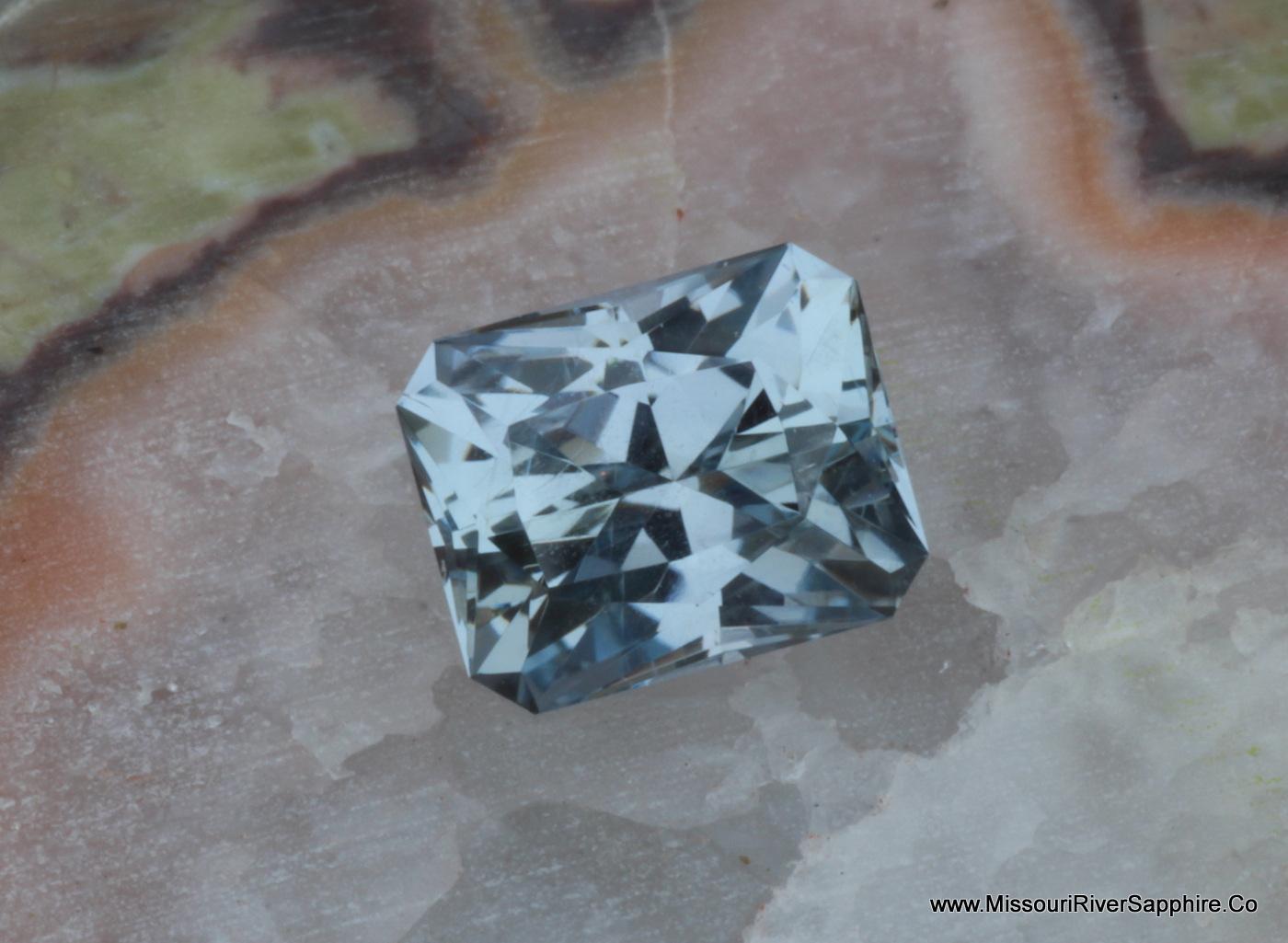 Montana Sapphire, Blue, Purple, Unheated, El Dorado Bar, rectangle