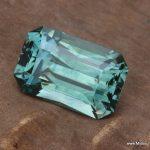 5.73ct Montana Sapphire, Spokane Bar Mine, Heat only