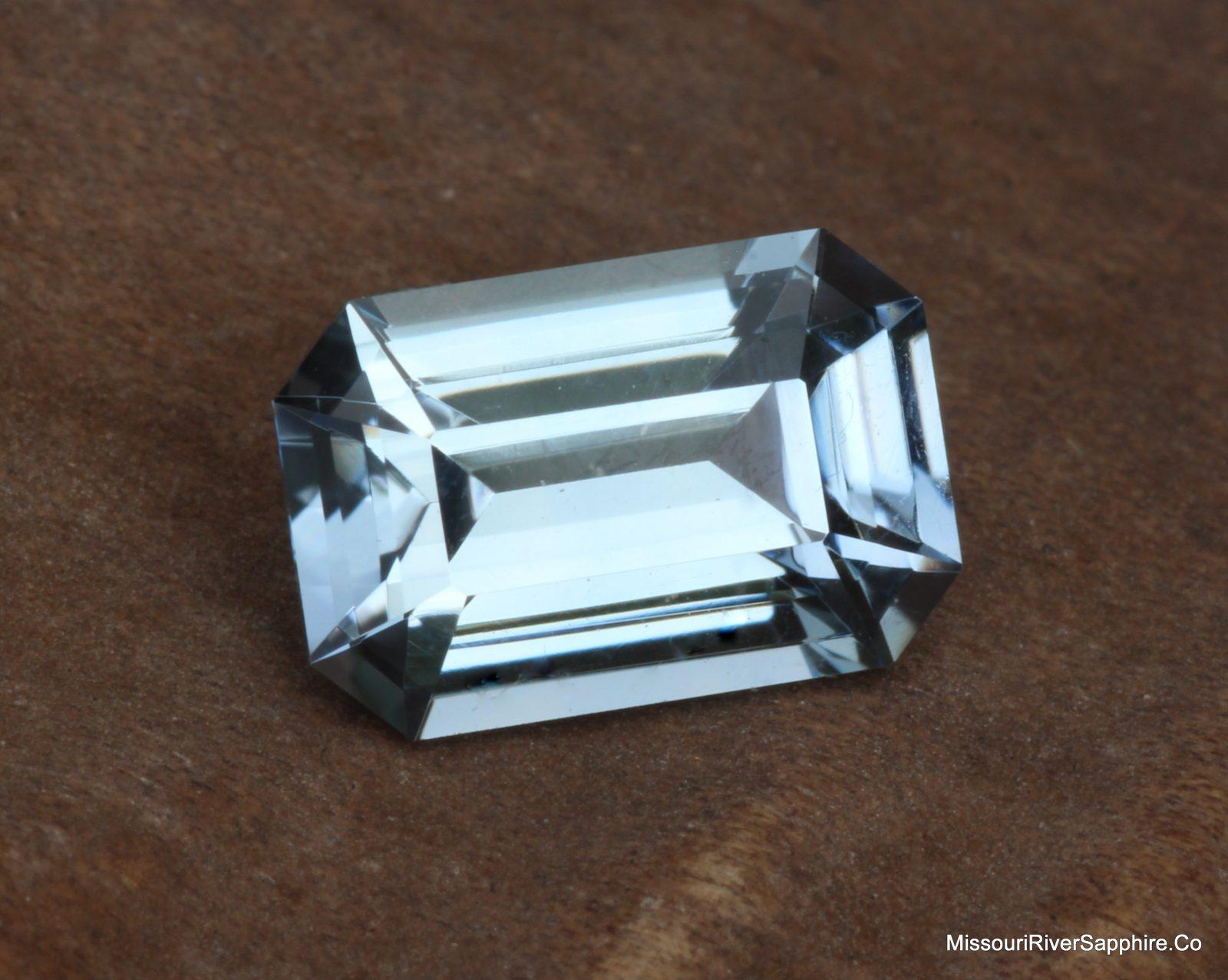 Sapphire, Unheated, Montana Sapphire, Precision Cut