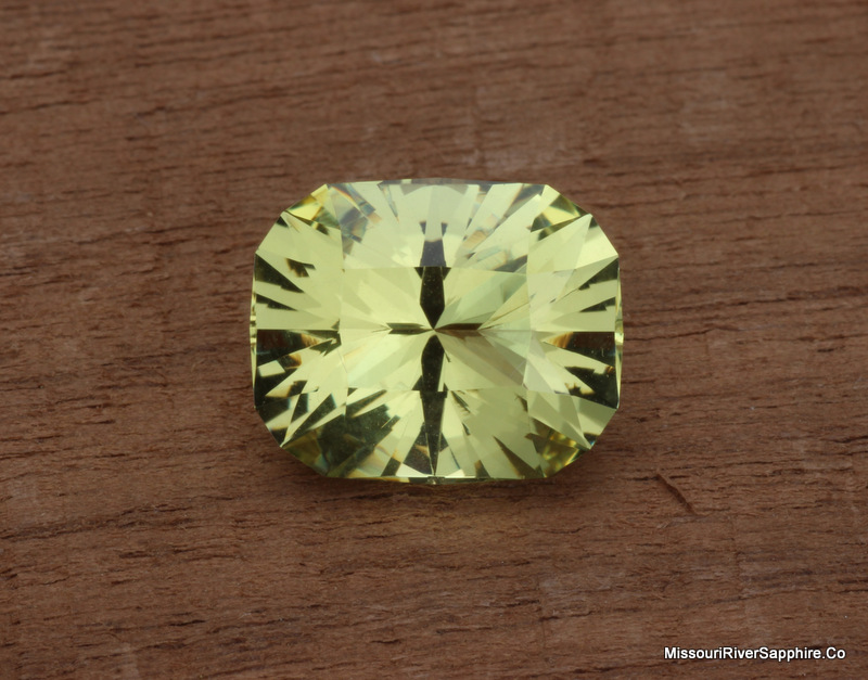 Heliodor Golden Beryl Brazil Lemon Yellow