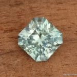 1.51ct Montana Sapphire, Unheated, Light Greenish Blue