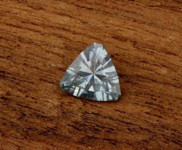 Unheated Montana Sapphire, Trillion Sapphire