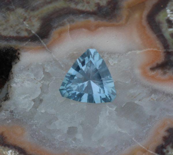 Unheated Montana Sapphire Trillion