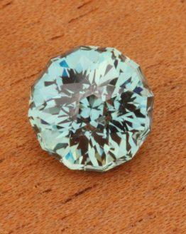 Teal Montana Sapphire, Round, Unheated