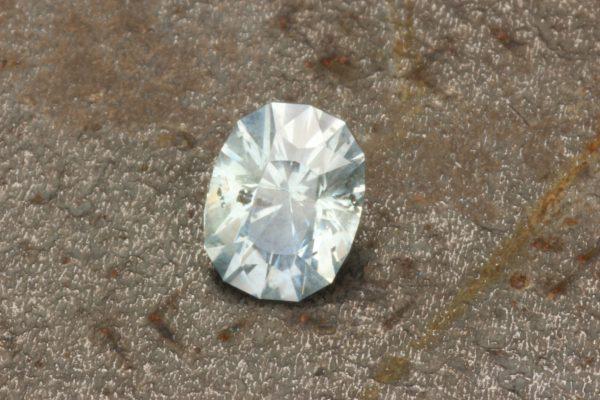 1ct Unheated Icy Montana Sapphire