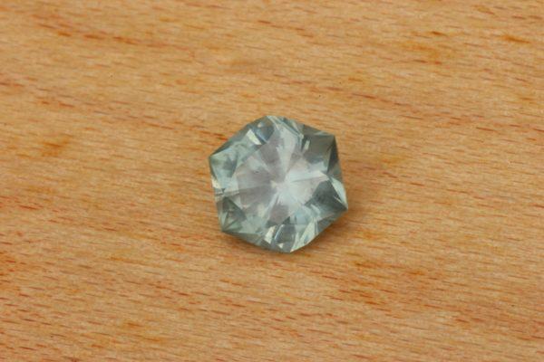 Hexagon Montana Sapphire