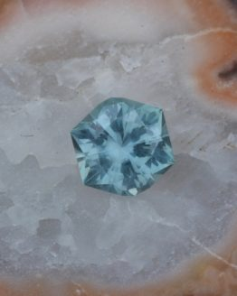 Montana Sapphire Hexagon