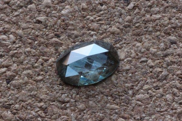 Rose cut Montana Sapphire