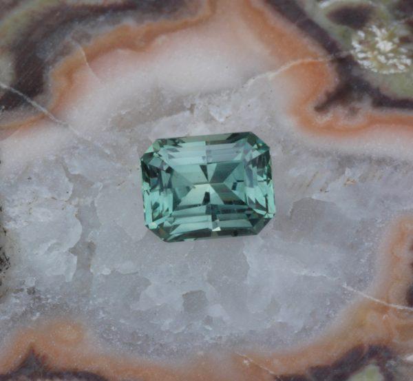 Montana Sapphire Emerald Cut