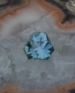 Montana Sapphire Trillion Unheated