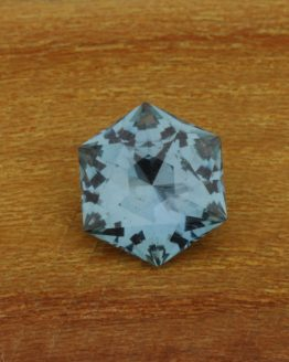 1.7ct Unheated Montana Sapphire Hexagon