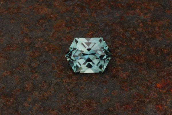 Unheated Montana Sapphire Hex