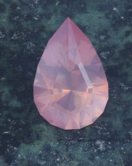 Rose Quartz Pear Cut