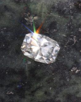 Unheated white montana sapphire