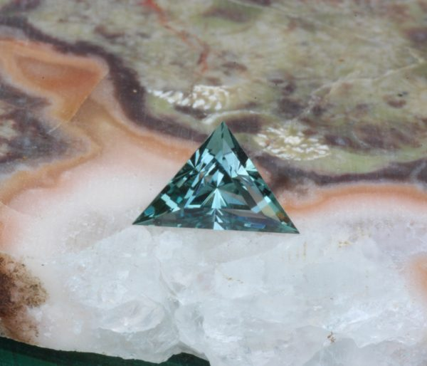 Teal Montana Sapphire Unheated