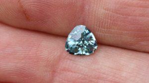 Montana Sapphire Trillion